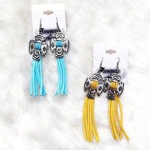 Jewelry - Thunderbird Tassel Earrings